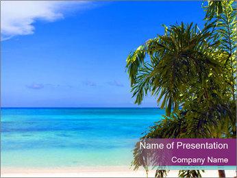Island Paradise PowerPoint Template - Slide 1