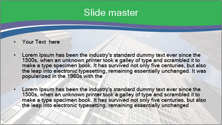 New York City in skyscrapers PowerPoint Template - Slide 2
