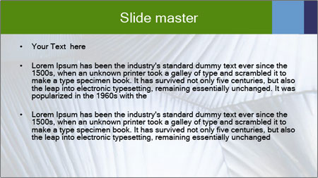 Acid in polarized light PowerPoint Template - Slide 2
