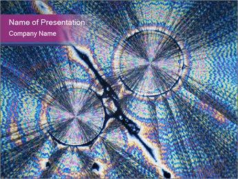 Microcrystals Modèles des présentations  PowerPoint