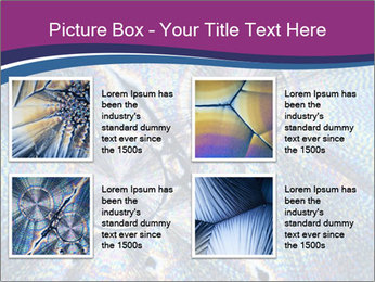 Microcrystals PowerPoint Templates - Slide 14
