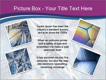 Microcrystals PowerPoint Template - Slide 24