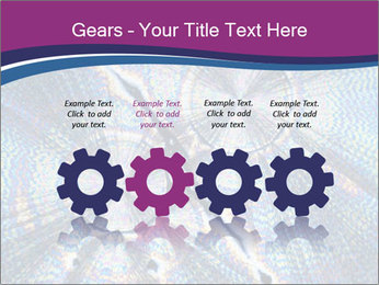 Microcrystals PowerPoint Templates - Slide 48