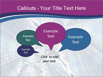 Microcrystals PowerPoint Template - Slide 73