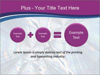 Microcrystals PowerPoint Template - Slide 75