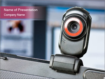 Webcam Plantillas de Presentaciones PowerPoint