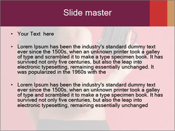 Sexy woman PowerPoint Template - Slide 2