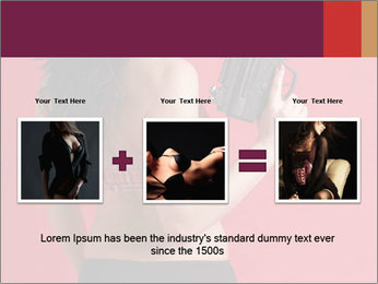 Sexy woman PowerPoint Template - Slide 22