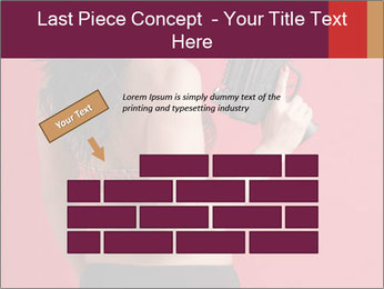 Sexy woman PowerPoint Template - Slide 46