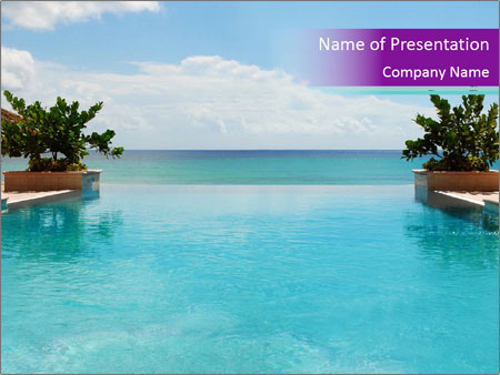 Luxury Beach PowerPoint Templates
