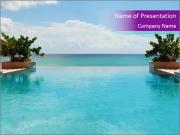 Luxury Beach PowerPoint Template