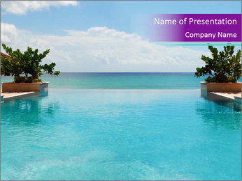 Luxury Beach PowerPoint Templates - Slide 1