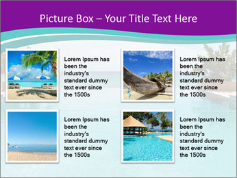 Luxury Beach PowerPoint Templates - Slide 14