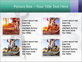 Mountain Biker PowerPoint Template - Slide 14