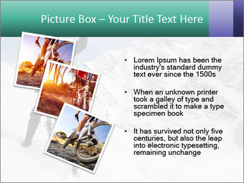 Mountain Biker PowerPoint Template - Slide 17