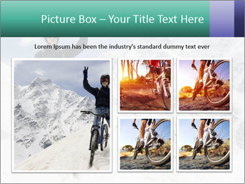 Mountain Biker PowerPoint Template - Slide 19