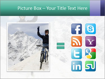 Mountain Biker PowerPoint Template - Slide 21