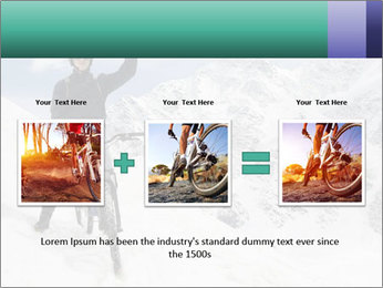 Mountain Biker PowerPoint Template - Slide 22