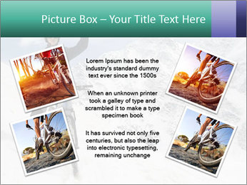 Mountain Biker PowerPoint Template - Slide 24
