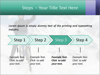 Mountain Biker PowerPoint Template - Slide 4