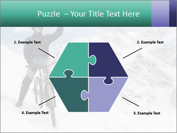 Mountain Biker PowerPoint Template - Slide 40