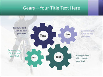 Mountain Biker PowerPoint Template - Slide 47