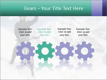 Mountain Biker PowerPoint Template - Slide 48
