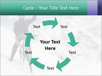 Mountain Biker PowerPoint Template - Slide 62