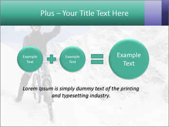 Mountain Biker PowerPoint Template - Slide 75