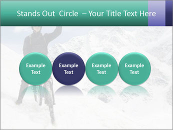 Mountain Biker PowerPoint Template - Slide 76
