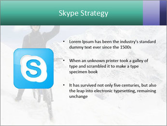 Mountain Biker PowerPoint Template - Slide 8