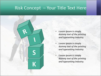 Mountain Biker PowerPoint Template - Slide 81