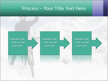 Mountain Biker PowerPoint Template - Slide 88