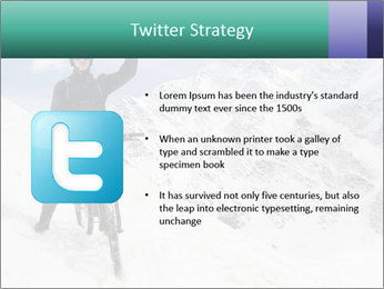 Mountain Biker PowerPoint Template - Slide 9