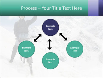 Mountain Biker PowerPoint Template - Slide 91