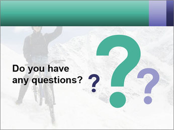 Mountain Biker PowerPoint Template - Slide 96