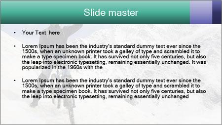 Mountain Biker PowerPoint Template - Slide 2