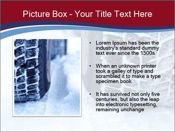 Winter tyres PowerPoint Template - Slide 13
