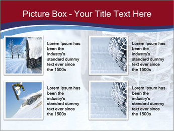 Winter tyres PowerPoint Template - Slide 14