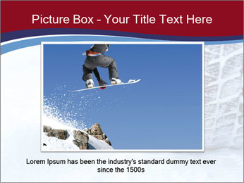 Winter tyres PowerPoint Template - Slide 15