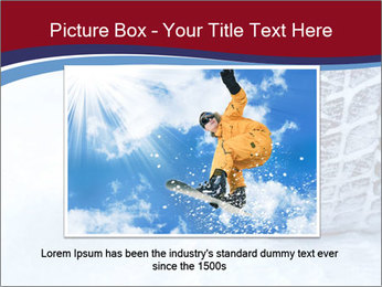 Winter tyres PowerPoint Template - Slide 16