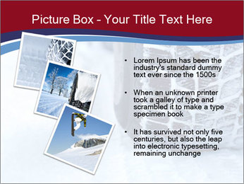 Winter tyres PowerPoint Template - Slide 17