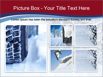 Winter tyres PowerPoint Template - Slide 19
