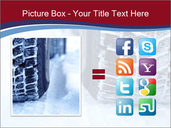 Winter tyres PowerPoint Template - Slide 21