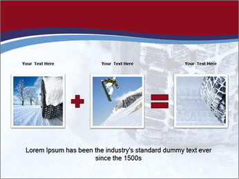 Winter tyres PowerPoint Template - Slide 22