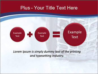 Winter tyres PowerPoint Template - Slide 75