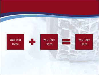 Winter tyres PowerPoint Template - Slide 95