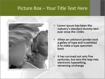 Carved statue PowerPoint Template - Slide 13