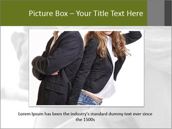 Carved statue PowerPoint Template - Slide 16