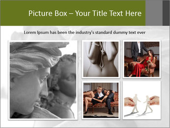 Carved statue PowerPoint Template - Slide 19